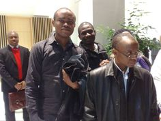 With Mallam Nasir Ahmad El-Rufai.    Former minister of FCT