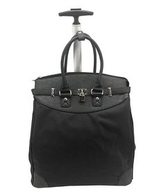 Look at this Alfa Classic Foldable Rolling Tote on #zulily today!