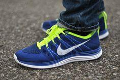 NIKE FLYKNIT LUNAR1+ My favorite colors on one shoe...