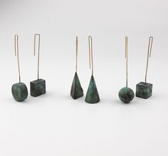 Michele Mockiuti 06 Sculptural earrings