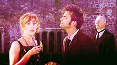Donna and Doctor Who