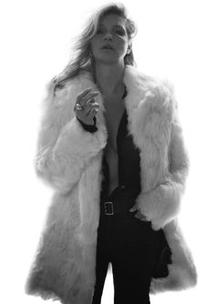 Have you seen the latest Saint Laurent campaign starring Kate Moss?