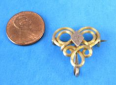 Edwardian Gold Filled Brooch Watch Pin by JewelryDiscoveries