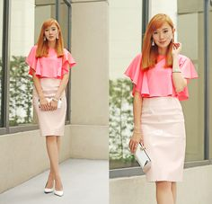 Color Me Pink BY CAMILLE C. FASHION DESIGNER/BLOGGER AT ITSCAMILLECO.COM FROM MANILA, PHILIPPINES