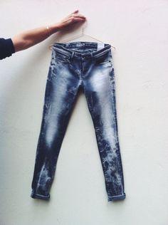 Denham skinny jeans.