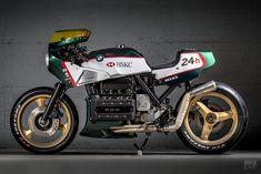 Endurance racer tribute: VTR Customs' wild BMW K100