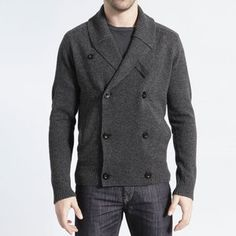 Rustic Shawl Cardigan Charcoal, $59, now featured on Fab.