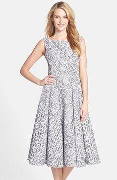 Vera Wang Floral Lace Midi Dress available at #Nordstrom