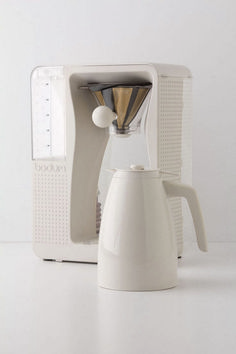 Bodum Bistro Brew Coffee Maker from Anthropologie. Shop more products from Anthropologie on Wanelo. Pod Coffee Makers, Best Coffee Maker, Drip Coffee Maker, Coffee Lovers, Coffee Company, Coffee Shops, Decoration Photo, Coffee Brewer, Drink Coffee