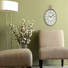 For Stratton Home Decor Elegant Wall Clock Get Free Shipping At