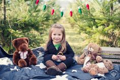 Mama and Daughter Duo – Christmas Tree Farm Mini-Session - Seattle Children Photography