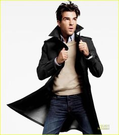 Zachary Quinto... and his hair