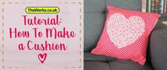 Make Your Own Heart Cushion