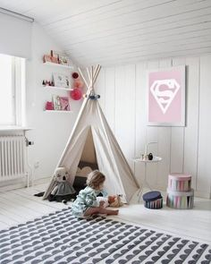 Is this not the MOST beautiful kid room ever? LOVE!! http://thestir.cafemom.com/baby/171135/the_pefect_swedish_style_nursery?utm_medium=sm&utm_source=pinterest&utm_content=thestir&newsletter