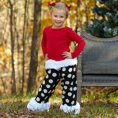 oh my gosh, this outfit! from Lolly Wolly Doodle, this Christmas!