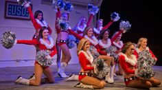The Dallas Cowboys Cheerleaders have added to their long history of supporting troops and military families with their 75th USO tour appearance in 2012 as they spread holiday cheer to servicemen and women in the Middle East.