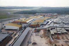 """""""Aeroporto Internacional de Manaus"""". # Manaus, Amazonas. Brasil."""