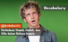 Perbedaan Stupid, Foolish, dan Silly dalam Bahasa Inggris   http://www.belajardasarbahasainggris.com/2018/02/01/perbedaan-stupid-foolish-dan-silly-dalam-bahasa-inggris/
