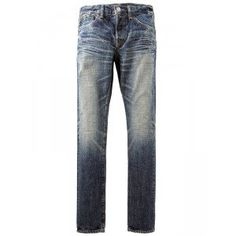Special materials have been used for these low tension denim that resulted to an intense vertical unevenness which in turn causes a