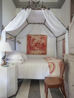 cozy sleeping nook Furlow Gatewood #linens