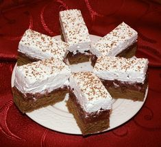 Eastern European Recipes, Cookie Bars, Nutella, Sweet Recipes, Food And Drink, Bread, Cookies, Drinks, Cakes
