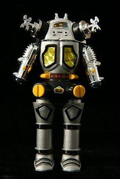 Vintage Japanese Toy Robot