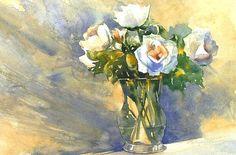 Lydia Leydolf: Rosen in der Vase