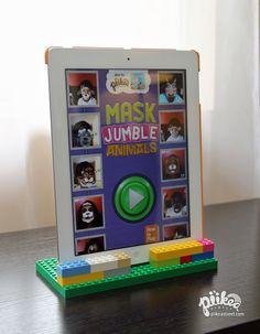 4 DIY iPad Stands. An original #piikeastreet #kids #craft.