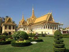 Cambogia, Phnom Penh Palazzo reale