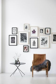 Gallery wall, gallery wall ideas, framed prints, art wall, home decor Inspiration Wand, Decoration Inspiration, Interior Inspiration, Decor Ideas, Decorating Ideas, Design Inspiration, Diy Ideas, Interior Decorating, Decoration Pictures