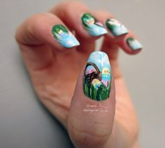 Easter nails by simplynailogical