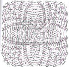 Геометрические мотивы крючком - 6 часть