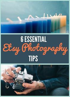 Use these 6 Etsy photography tips to get customers to click on your Esty listings. Photos are perhaps the most important part of your Etsy store. Read more