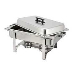 Stainless Chafing Dish Chafer Warming Tray Food Serving Warmer Catering Buffet