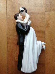 Romantic Porcelain Cake Topper $38
