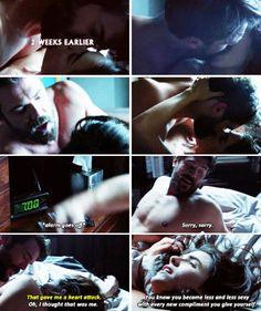 Laurel & Frank + morning sex