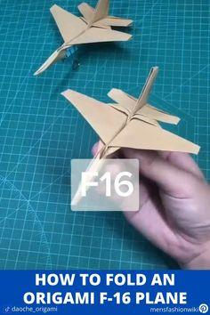 Paper Folding Crafts, Paper Mache Crafts, Paper Crafts Origami, Paper Crafts For Kids, Diy For Kids, Instruções Origami, Origami Design, Origami Boxes, Dollar Origami
