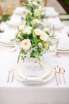 Rose gold flatware by Kate Spade