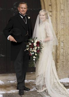 Abbey ever after for bride Edith as Downton draws to a close