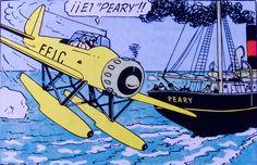 """La estrella misteriosa - Hidroplano Arado Ar196 y Buque """"Peary"""""""