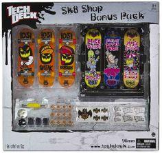Tech Deck Sk8 Shop Bonus Pack 1031 (Halloween) set - Listing price: $30.00 Now: $24.99 + Free Shipping