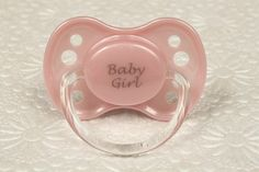 DDLG ABDL Adult Baby Pacifier/ Dummy/ Binky. NUK 3 - Baby Girl Pink Pacifier by BDSMGift on Etsy https://www.etsy.com/listing/287028239/ddlg-abdl-adult-baby-pacifier-dummy
