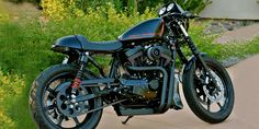 Harley-Davidson Sportster with Cafe Racer kit by Ryca Motors