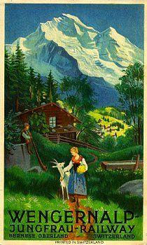 Wengeralp Jungfrau Railway 1921
