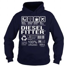Awesome Tee For Diesel Fitter