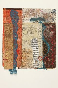 "Saatchi Art Artist Cas Holmes; Collage, ""Indian Journal"" #art"