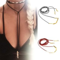 Alloy Pendants Velvet Bow Tied Choker Necklace
