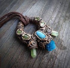 Primitive Pendant Primitive tribal jewellery