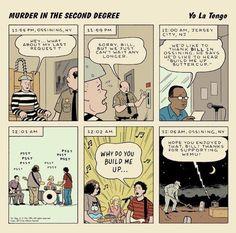 """Yo La Tengo revient avec une compilation de reprises loufoques """"Murder in the Second Degree"""""""