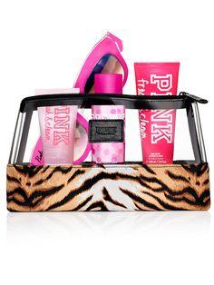 VS PINK Girls Night In Fresh & Clean Gift Bag Set